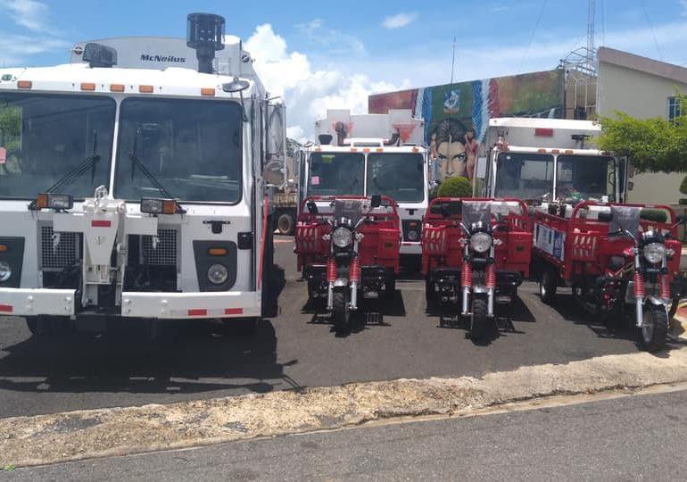 Alcaldía de Monte Plata adquiere camiones compactadores