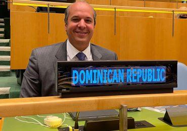 RD electa a la vicepresidencia de las 76 Asamblea General de la ONU