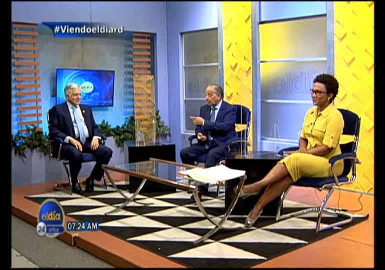 Eduardo Estrella considera reforma fiscal debe ser integral y que contemple inversiones