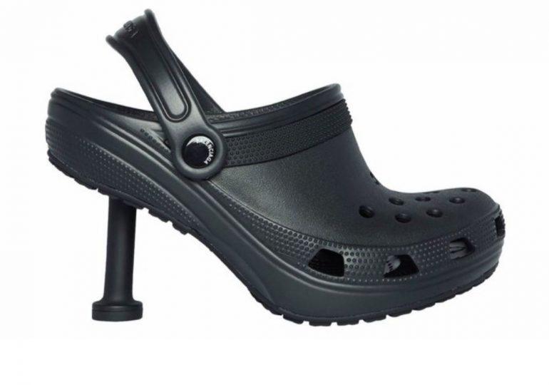 Balenciaga vuelve con polémica: ahora las Crocs tienen taco