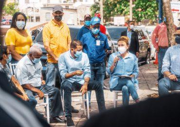 Alcaldesa Carolina Mejía traslada despacho a la comunidad de Los Peralejos