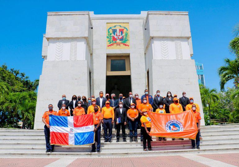 Defensa Civil celebra sus 55 años sirviendo al país