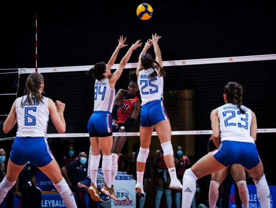 Las Reinas del Caribe barren a Serbia en la Liga de Naciones de voleibol