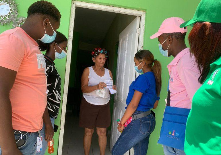 CONANI se integra a Jornada de Vacunación en las Regiones Sur y Este del país