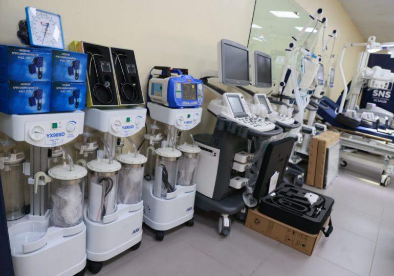 Hospital Regional Infantil Dr. Arturo Grullón recibe nuevos equipos médicos