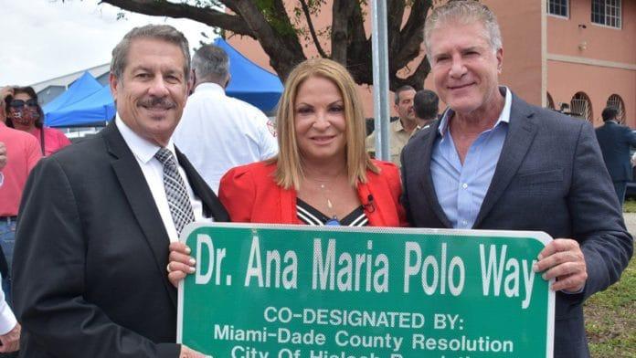 EE.UU dedica calle a la Dra. Ana María Polo
