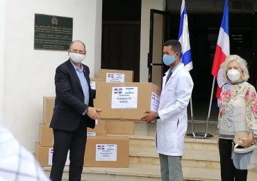 VIDEO | Israel dona insumos médicos contra el Covid -19 al Hospital Infantil Dr. Robert Reid Cabral