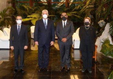Jefe de la Misión Dominicana en La Habana presenta sus Cartas Credenciales