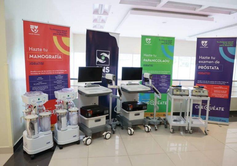 Servicio Nacional de Salud entrega equipos médicos a Hospital Materno Reynaldo Almánzar