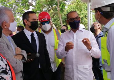 MOPC supervisa los trabajos de construcción nuevo Palacio de Justicia en SDE