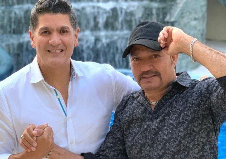 Frank Reyes y Eddy Herrera unen su voces a ritmo de bachata