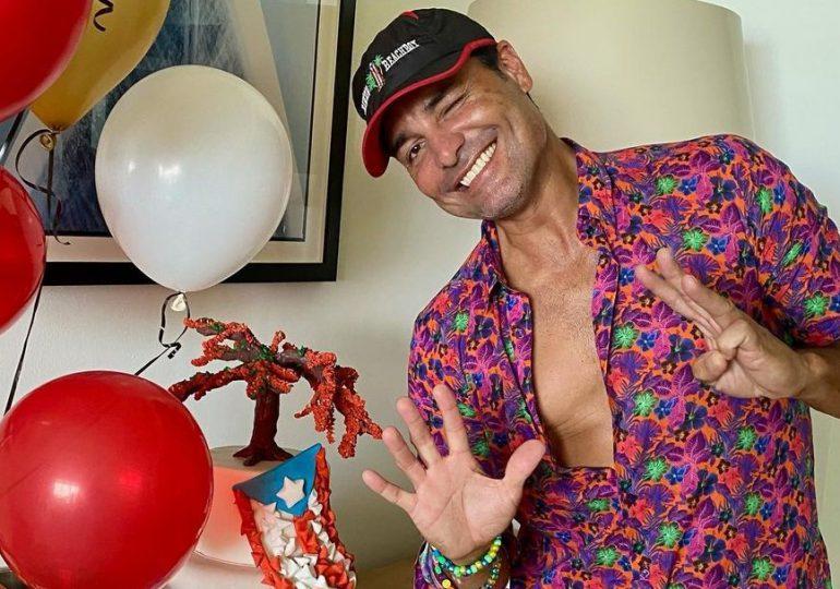 Así celebra Chayanne su cumpleaños 53