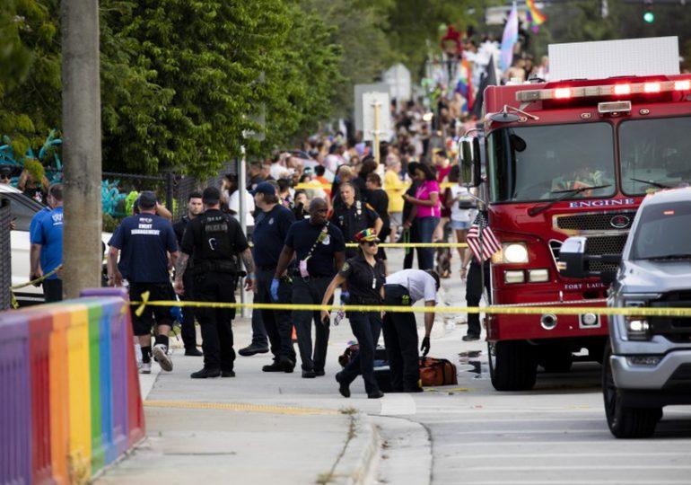 """Un muerto en """"trágico accidente"""" en desfile del orgullo LGBTQ en  EEUU"""