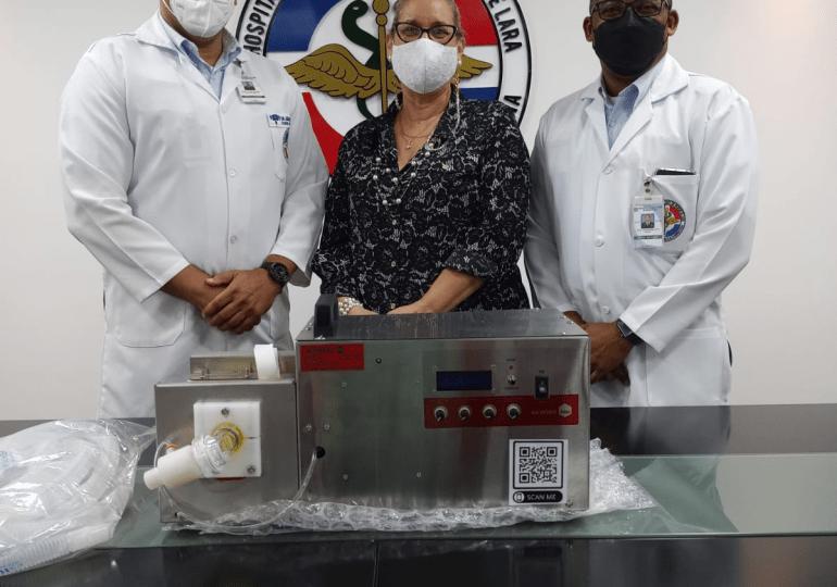 INTEC dona cinco ventiladores mecánicos más al Hospital Dr. Ramón de Lara