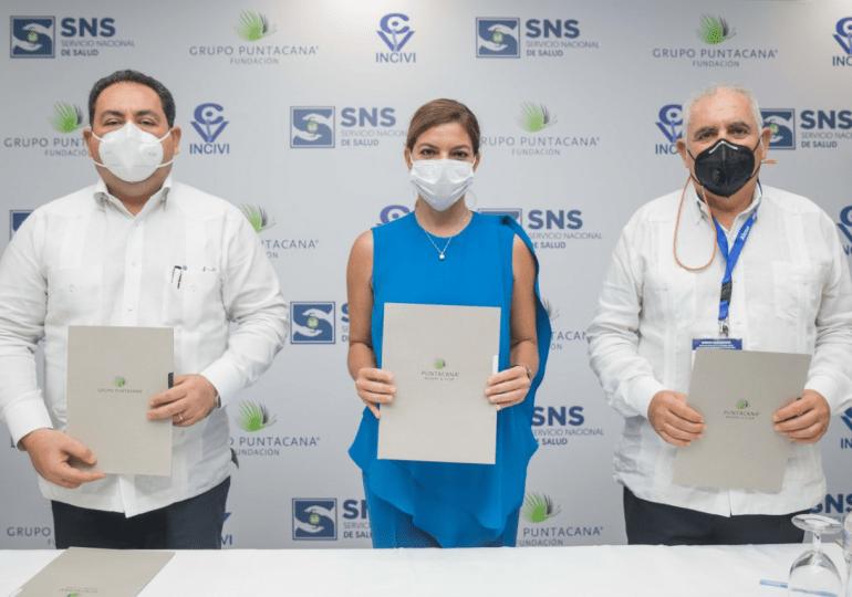 Fundación Grupo Puntacana e INCIVI acuerdan colaboración con el SNS
