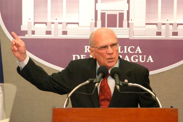 Fallece expresidente de Nicaragua Enrique Bolaños Geyer a los 93 años