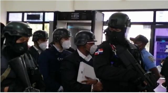 VIDEO | Imputados Operación Coral, Núñez de Aza, Tanner Flete y Alejandro Montero, apelan por variación de prisión preventiva
