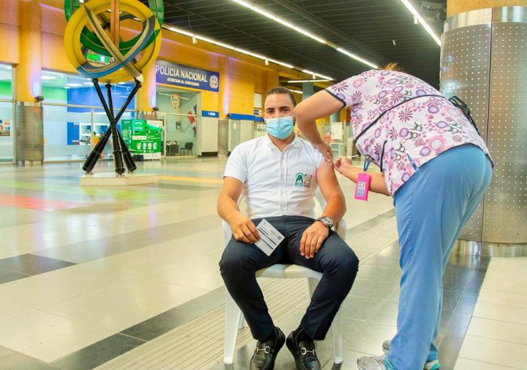 En RD se han aplicado más de siete millones de vacunas contra el Covid-19