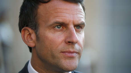 VIDEO | Le dan una galleta al presidente de Francia, Emmanuel Macron, tras un acto electoral
