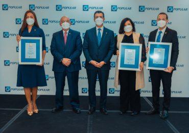 Banco Popular distingue a sus gerentes destacados en su tradicional reunión anual