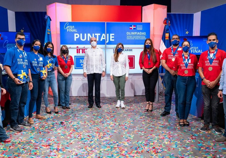 Realizan primera edición de las Olimpiadas Interuniversitaria UE-RD