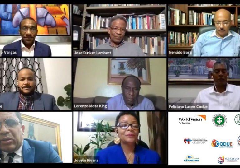 Líderes evangélicos reafirman compromiso contra el covid-19 y llaman a la población a vacunarse