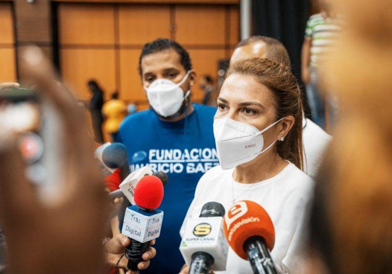 Carolina Mejía destacó como exitosa jornada de vacunación comunitaria en el DN