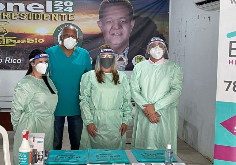 Fuerza del Pueblo realiza jornada de vacunación contra el COVID- 19 en Puerto Rico