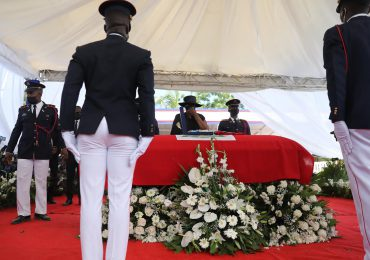 VIDEO | Viuda se despide del asesinado presidente Jovenel Moïse