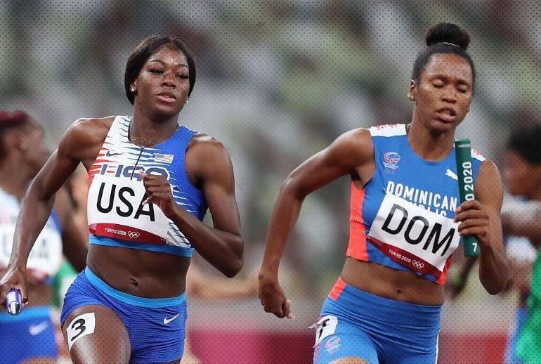 Dominicana gana apelación en carrera relevo 4x400 mixto