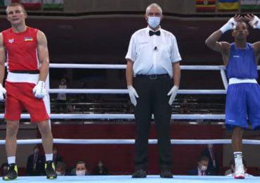 Euri Cedeño cae en cuarto de final en boxeo en los JJOO Tokio 2020