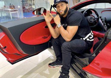 """Desconocidos incendian Bugatti de """"El Alfa"""" en Miami"""