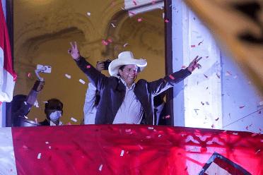 Fujimori admite derrota y jurado electoral de Perú alista anuncio de Castillo presidente
