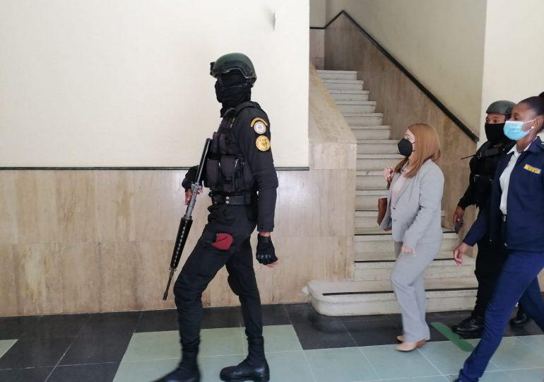 Caso Anti Pulpo | Magalys Medina llega al Palacio de Justicia para la revisión de medida de coerción
