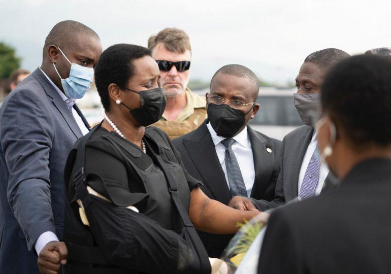 Primera dama de Haití dice no usará dinero del Estado para funeral de Jovenel Moise