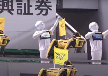 Robots convertidos en jardineros para celebrar los Juegos Olímpicos