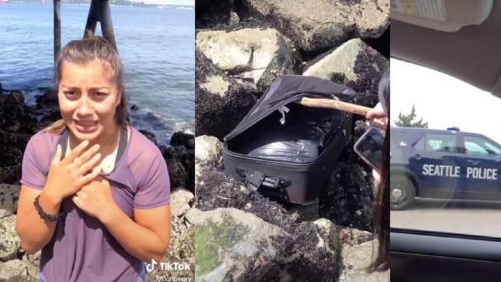 Mujer conduce por meses en EEUU con cadáveres de sobrinos en la maleta
