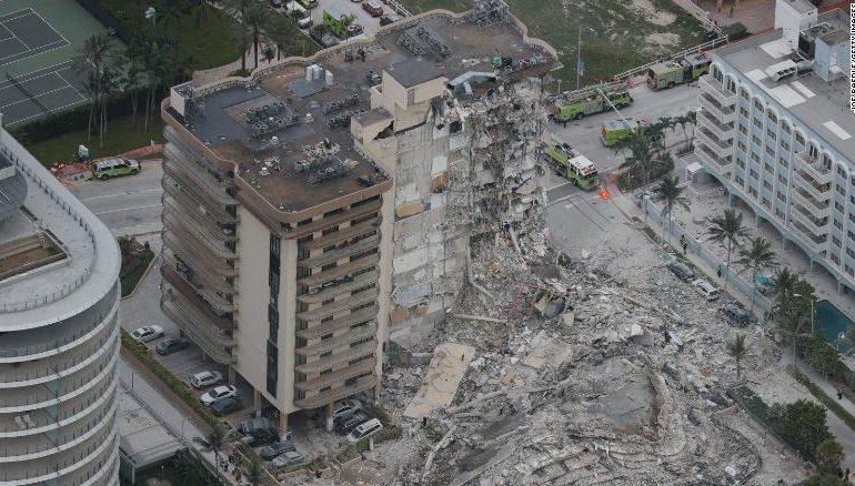 Termina búsqueda de sobrevivientes en edifico colapsado en Florida
