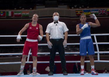 Boxeadora María Moronta avanza cuartos de final, se convierte en la primera mujer en ganar una pelea en JJOO