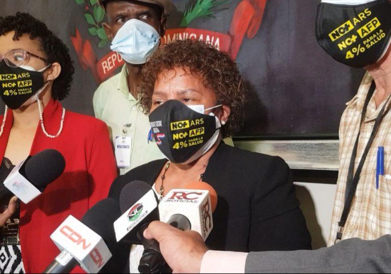 Video | Más de 40 organizaciones presentan al Congreso propuesta de eliminación AFP y ARS privadas