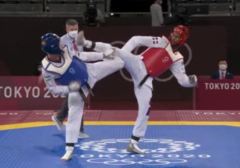 El atleta Moisés Hernández pierde combate en taekwondo