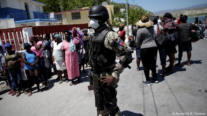 OPS advierte que la violencia en Haití afecta la lucha contra covid-19