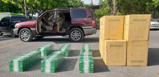 Ejército ocupa en Independencia 29 cajas de cigarrillos