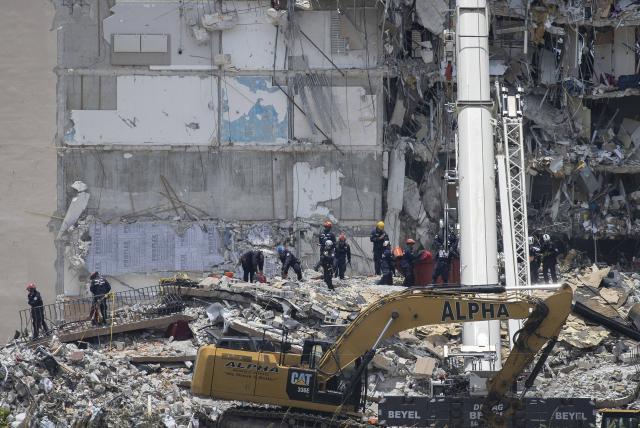 Identifican a la última víctima mortal en el derrumbe de edificio en Florida
