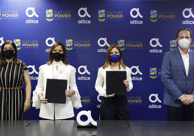 Fundación Altice realiza alianza tecnológica con la Nature Power Foundation