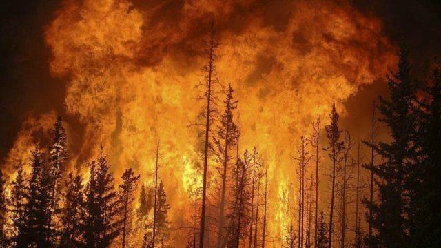 Crisis climática alimenta más de 400 incendios forestales en Canadá