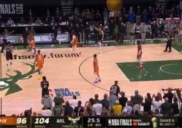 VIDEO | Los Bucks son los campeones de la NBA