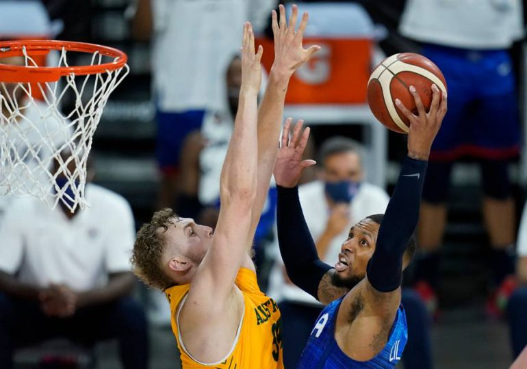 EEUU pierde ante Australia su segundo juego de preparación olímpica