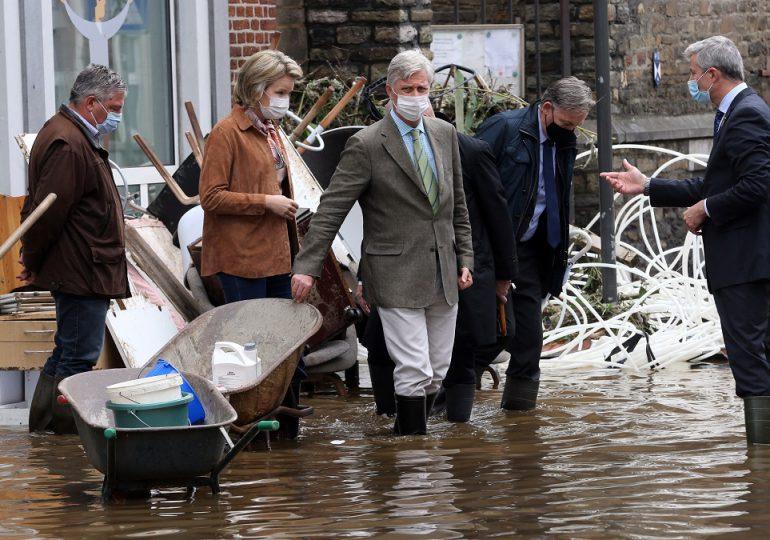 """Bélgica decreta duelo nacional por víctimas de """"catastróficas"""" inundaciones"""