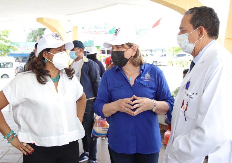 CONANI se une al Plan Social en jornada de vacunación en Cotuí